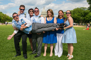 Supreme Court Steps Wedding. Maryland's Top LGBT Photographer