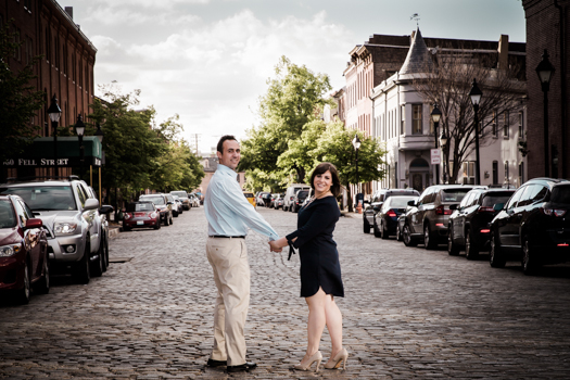 Fells Point Engagement Shoot