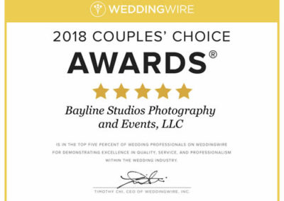 weddingwire 2018, Couples Choice Award