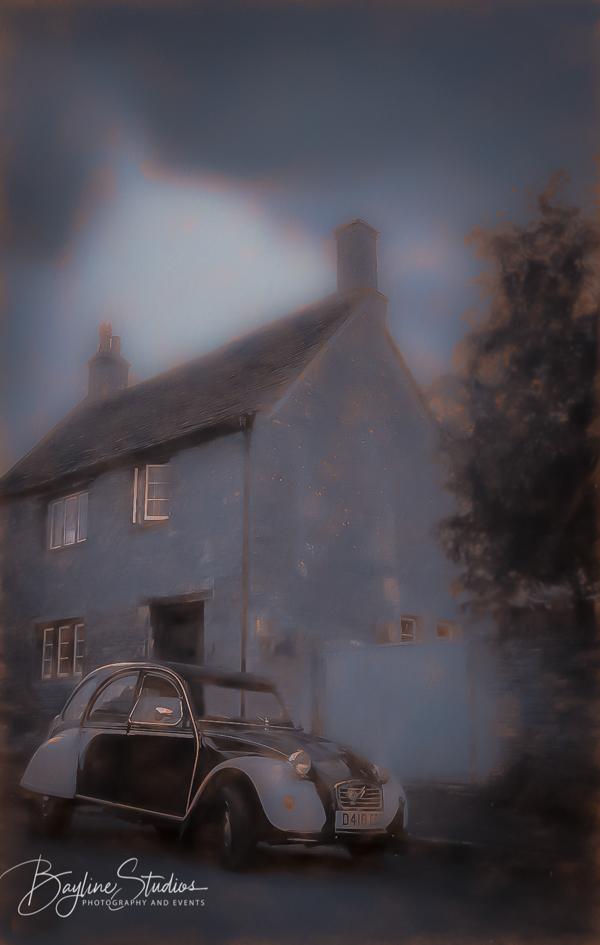 Fine art-Farm house-vintage Citreon