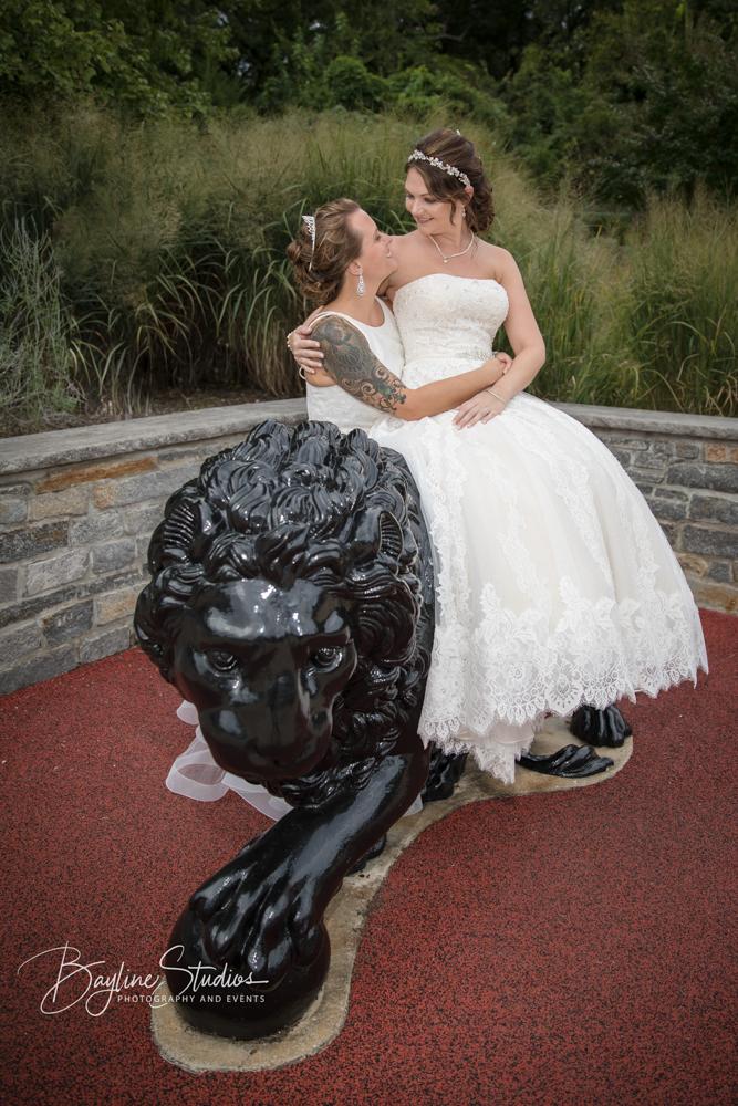 LGBT Brides, Maryland Zoo, LGBT Weddings